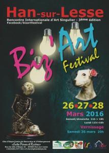 Affiche Biz'Art 2016